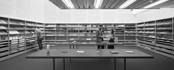 Trotz klaren Signalen des Öffentlichkeitsbeauftragten aus der Politik und des Bildungssteuerungs-Organ des Bundes sträubt sich die ETH-Bibliothek gegen Transparen (Foto: ETHZ)