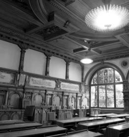 : Der historische Kantonsratssaal in Schaffhausen. (Foto: RDB/Ex-Press)