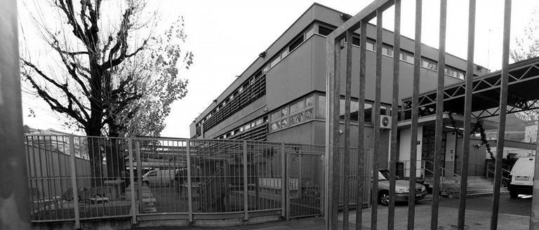 Empfangsstelle des Bundesamts für Migration in Chiasso (key).