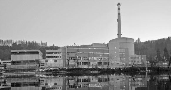 La centrale atomique de Mühleberg (BE): des décennies durant, la sécurité était une affaire entre l'IFSN et les exploitants de centrales. Désormais, la législation a changé. (Photo RDB/Ex-Press/Nadja Frey)