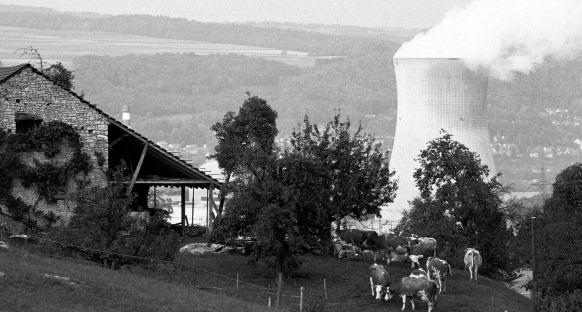 Pratique d'effaçage jugée inadmissible: les données de rejets dans l'atmosphère de la centrale de Leibstadt, automatiquement liquidées à l'IFSN, doivent être récupérées.(Photo RDB/Christan Lanz)