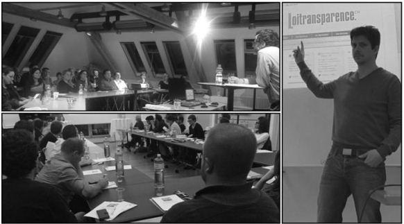 Les cours sur les lois sur la transparence ont suscité un vif intérêt, comme ici à Winterthur, Zurich et Lausanne.